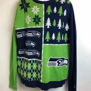 Nfl Sweaters Seattle Seahawks Ugly Christmas Sweater Xl Poshmark